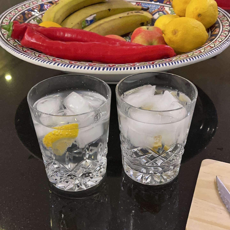 Tonic water.  Yes really!#dryjanuary
