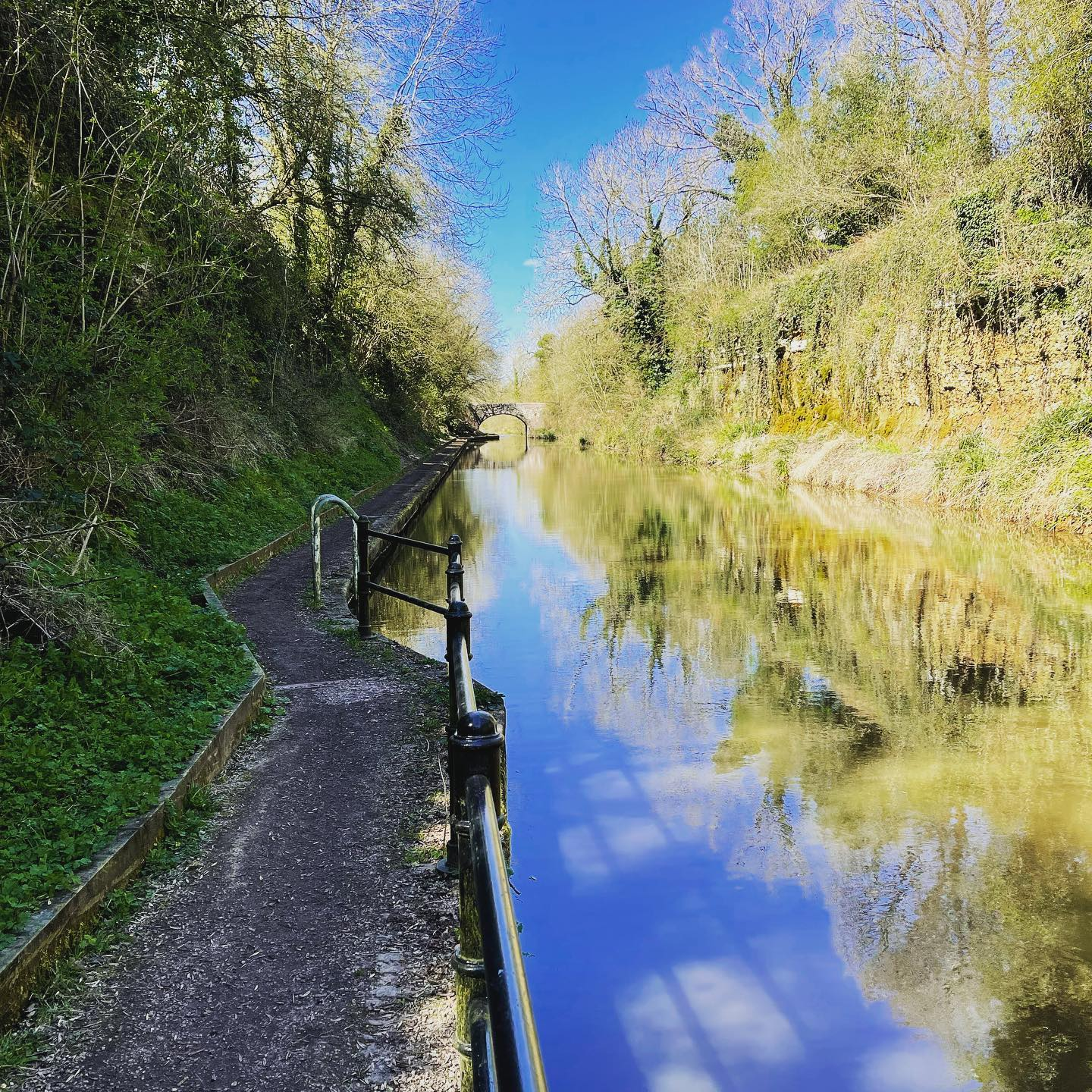 9.2km walk canalside today from Hatton locks to lapworth in the heart of Warwickshire, including the shrewley tunnel which is 396 meters long.