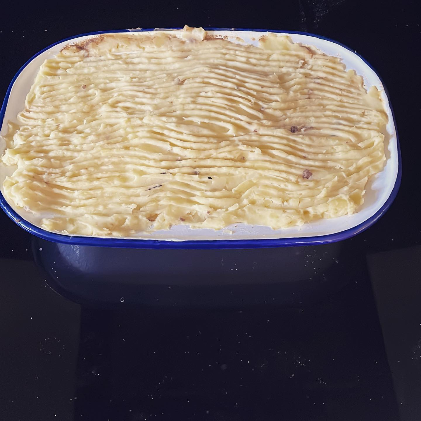 Made this bad boy in my 'spare' time.  Ow to pop it in the oven.#cottagepie